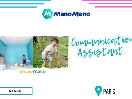 Manomano - Communication Assistant (Stage)