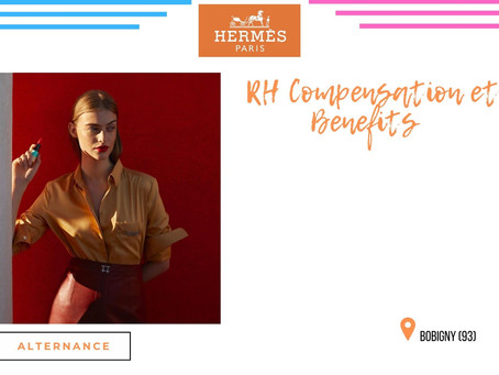 Hermès - RH Compensation et Benefits (Alternance)