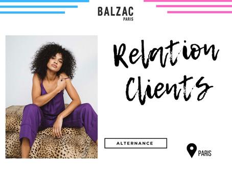 Balzac Paris - Relation Clients (Alternance)
