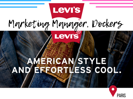 Levi's - Marketing Manager, Dockers