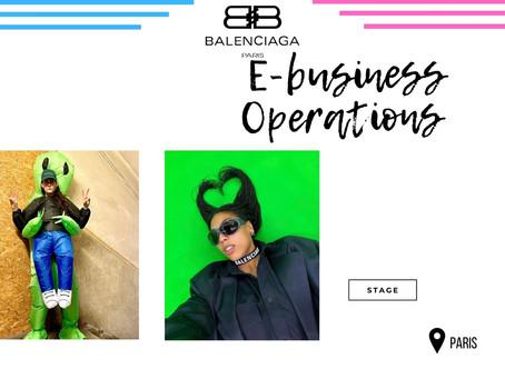 Balenciaga - E-business Operations (Stage)