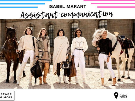 Isabel Marant - Assistant Communication (Stage)