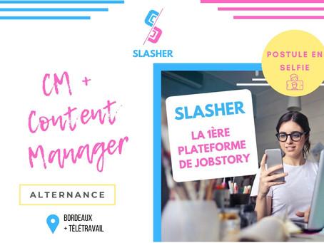 Slasher - CM & Content Manager (Alternance)