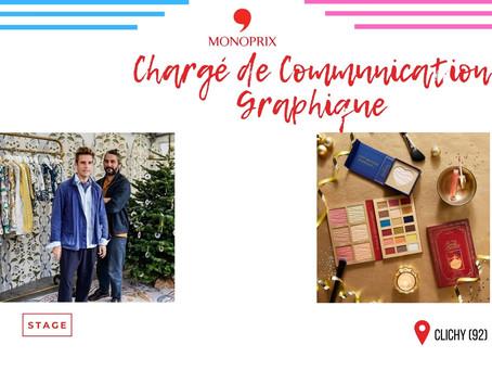 Monoprix - Chargé de Communication Graphique (Stage)