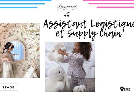 Bonpoint - Assistant Logistique et Supply Chain (Stage)