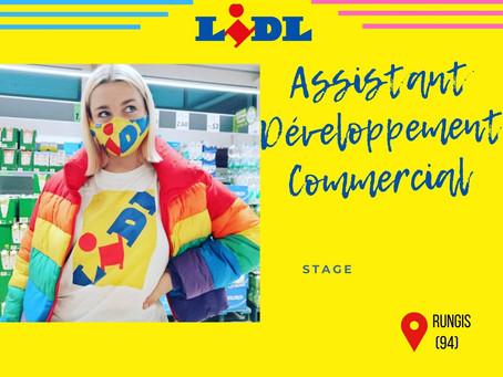 LIDL - Assistant Développement Commercial  (CDI)