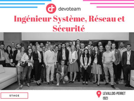 Devoteam - Ingénieur Système Réseau et Sécurité (Stage)