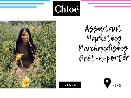 Chloé - Assistant Marketing Merchandising Prêt-à-porter