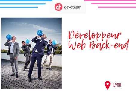Devoteam - Développeur Web Back-end