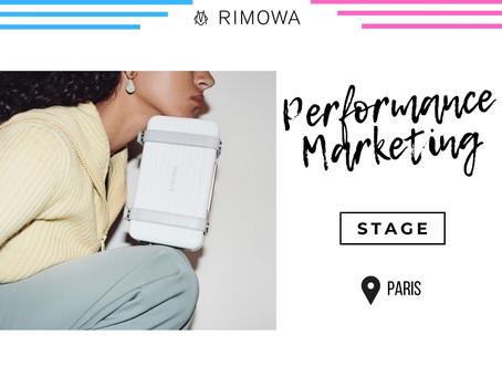 Rimowa - Performance Marketing (Stage)