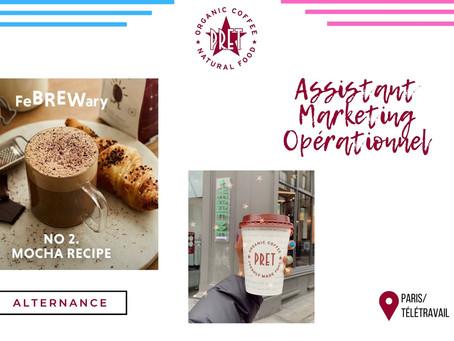 Prêt à manger - Assistant Marketing Opérationnel (Alternance)