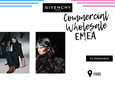 Givenchy - Commercial Wholesale EMEA (Alternance)