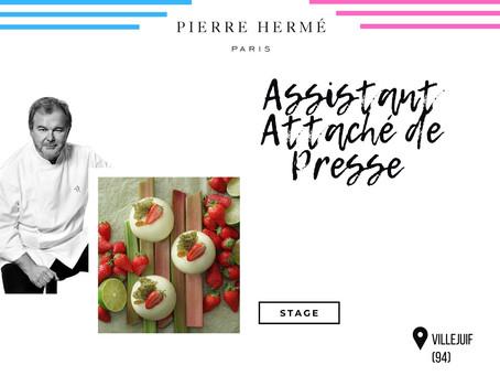 Pierre Hermé - Assistant Attaché de Presse (Stage)
