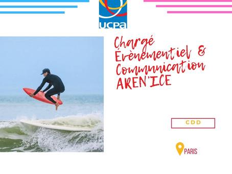UCPA - Chargé Évènementiel  & Communication AREN'ICE (CDD)