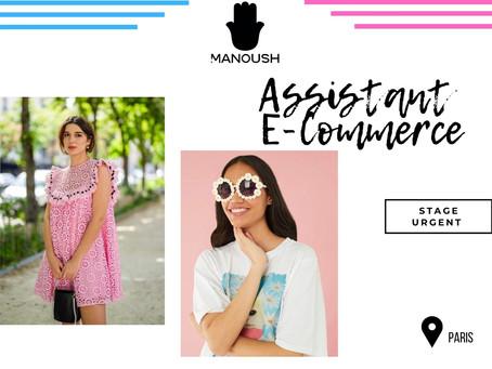 Manoush - Assistant E - Commerce (Stage)
