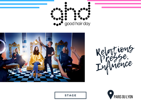 GHD - Relations Presse, Influence et Social Media (Stage)
