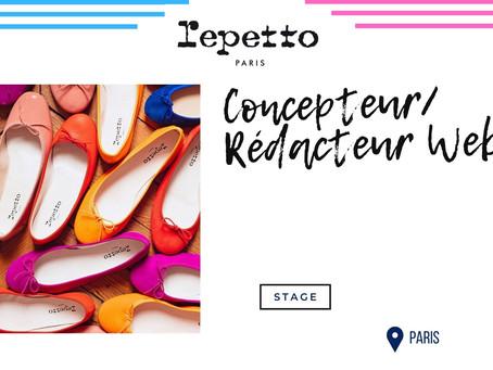 Répetto - Concepteur/Rédacteur Web (Stage)