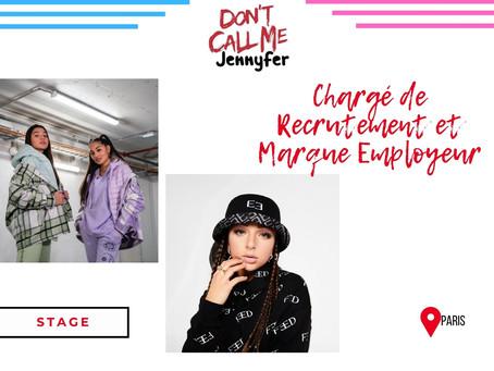 Jennyfer - Chargé de Recrutement et Marque Employeur (Stage)