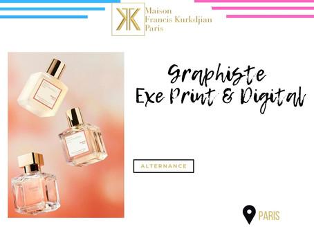 Maison Francis Kurkdjian - Graphiste Exe Print & Digital (Alternance)
