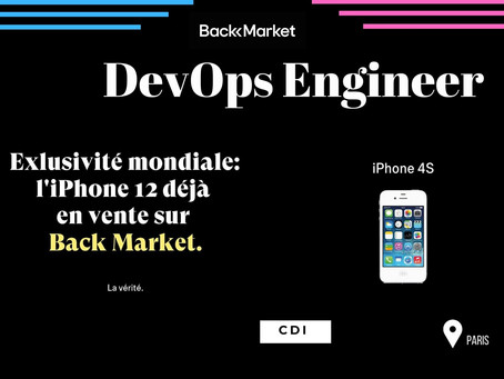 Backmarket - DevOps Engineer (CDI)