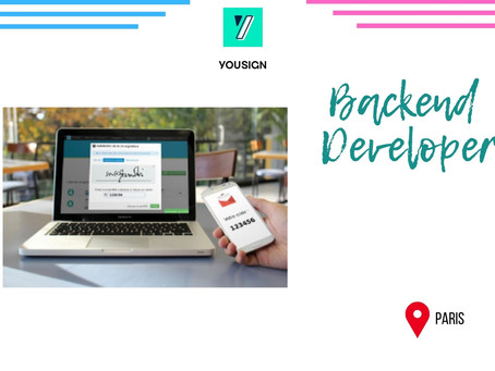 Yousign - Backend eveloper