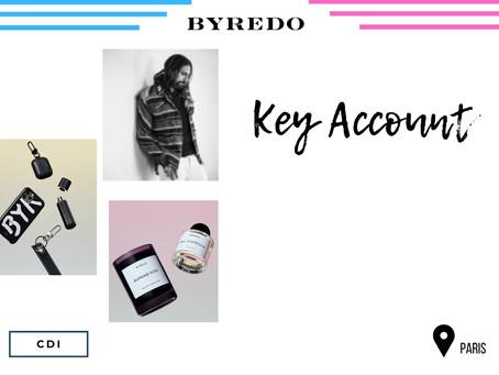 Byredo - Key Account (CDI)