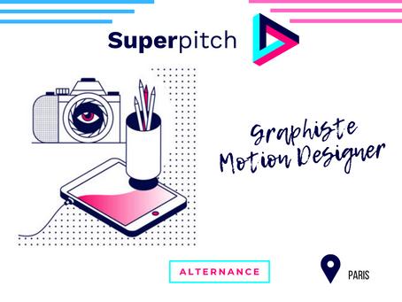 Superpitch - Graphiste Motion Designer (Alternance)