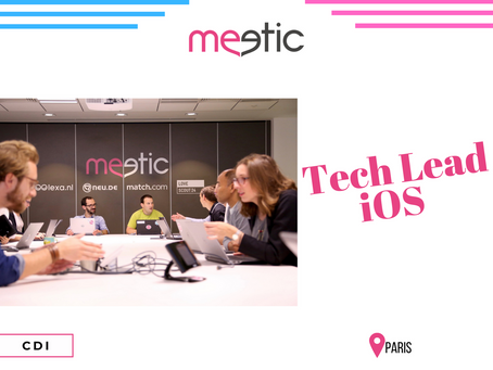 Meetic - Tech Lead iOS (CDI)