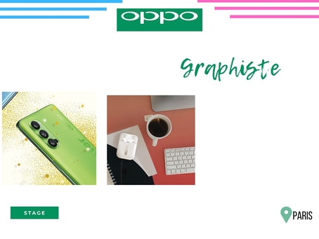 Oppo -  Graphiste (Stage)