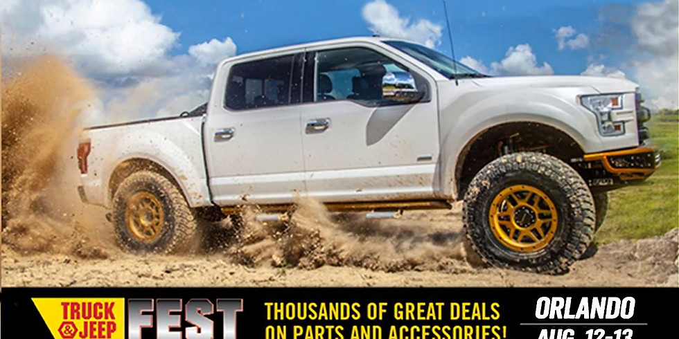 Off Road United @ 4 Wheel Parts Truck & Jeepfest