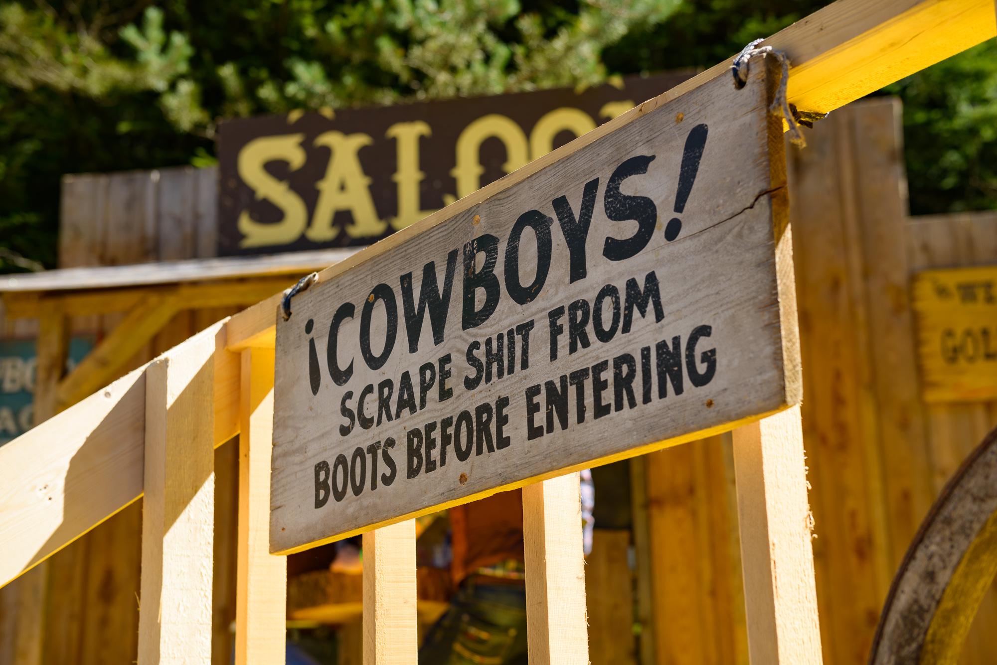 Richtlinien für Cowboys
