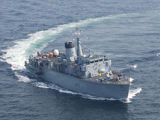 Royal Navy & Royal Marines at Poole Harbour Boat Show