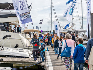 Sunseeker confirmed as main sponsor of Poole Harbour Boat Show 2017