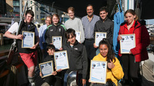 18 Dorset youngsters set sail thanks to Poole Harbour Boat Show