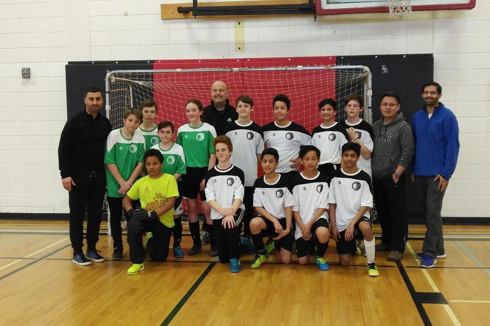 Our Fusion Boys (Green) with EOY Tournament Finalists