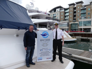 Elite Signs for the Poole Harbour Boat Show