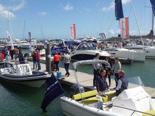 Poole Harbour Boat Show ~ bigger & better than ever