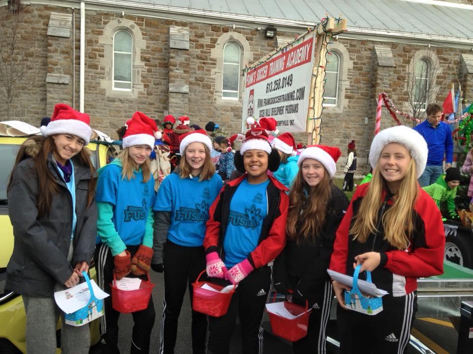 Santa Claus Parade Kemptville 2015