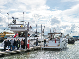 BOAT SHOW SET TO MAKE WAVES AT POOLE HARBOUR