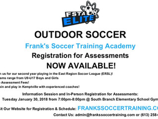 FSTA Elite: Outdoor Soccer Assessments