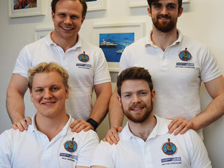 The Nauti Buoys chart their course for Poole Harbour