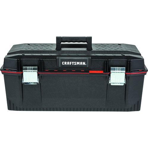 CRAFTSMAN Pro 28-in Red Plastic Lockable Tool Box