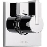 Delta Vero 1-Handle 6-Setting Diverter Valve Trim Kit in Stainless (Rough In Not