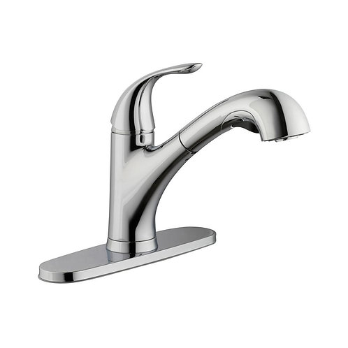 Glacier Bay Market Single-Handle Pull-Out Sprayer Kitchen Faucet in Chrome