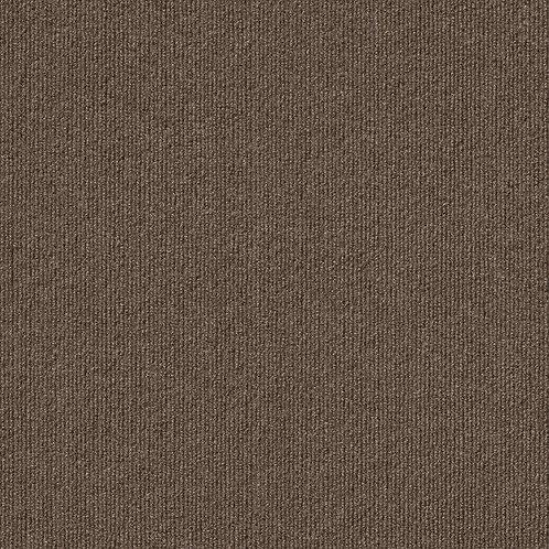 FossPremium Self-Stick Inspirations Espresso Ribbed Texture 18 in. x 18 in. Carp