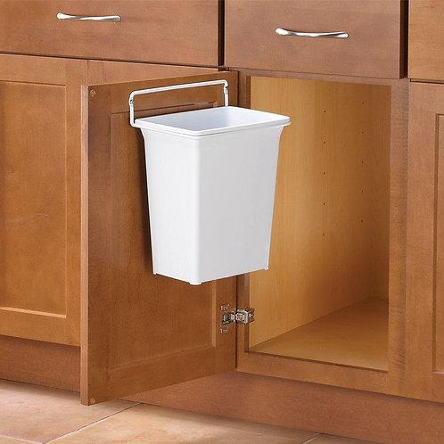 Knape & Vogt 13 in. H x 10 in. W x 7 in. D Plastic In-Cabinet Door Mount Trash C