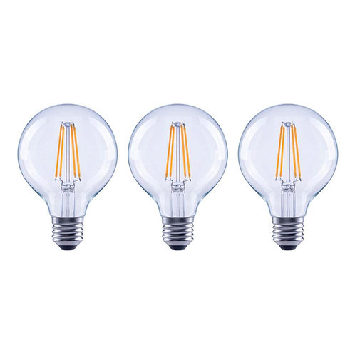 EcoSmart 40-Watt Equivalent G25 Dimmable ENERGY STAR Clear Glass Filament Vintag