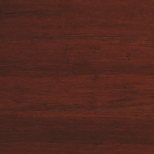 HDC Strand Woven Mahogany 3/8 in. T x 5-1/8 in. W x 72 in. L Engineered Click Ba