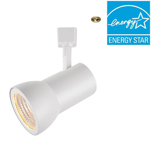 Hampton Bay White LED Dimmable Large Cylinder Track Lighting Head
