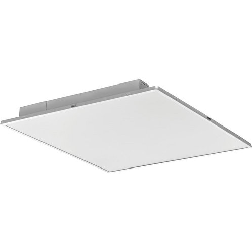 2 ft. x 2 ft. Fully Luminous White LED Lay-in Troffer with Smooth White Lens